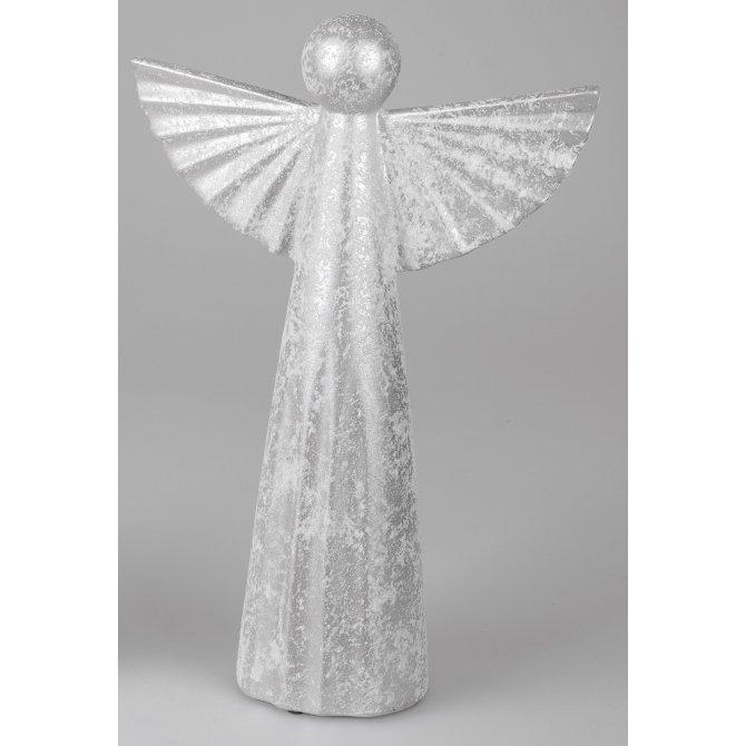 Engel modern hellgrau-geeist