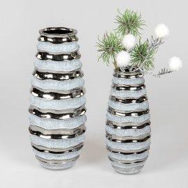 Vase Stone-silber