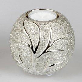Teelicht Kugel Baum-Champagner