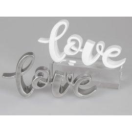 Schriftzug 26cm Love