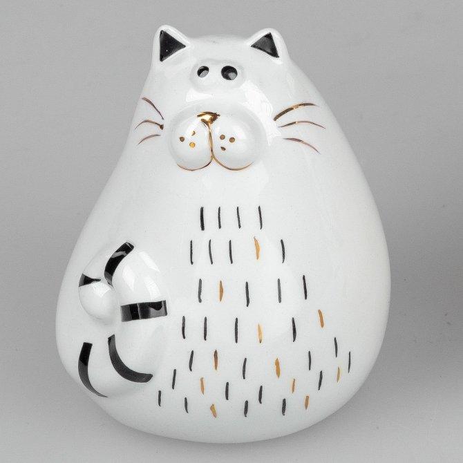 Katze modern 10cm Trend-Style
