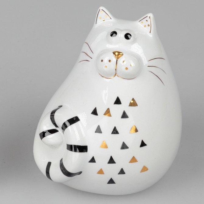 Katze modern 14cm Trend-Style