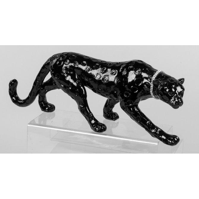Leopard schwarz