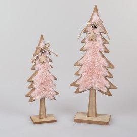 Baum Holz Fell-rosa