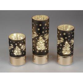 Deko-Licht LED schwarz-gold