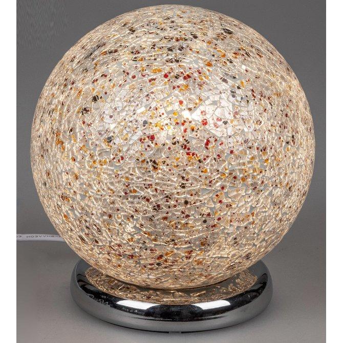 Lampe Kugel Touch Mosaik bunt