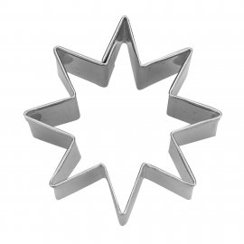 Ausstecher Stern 8-zackig