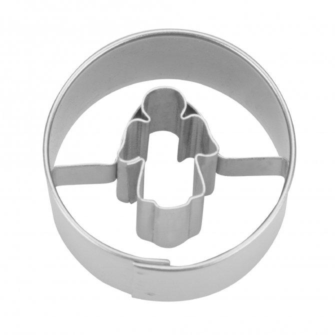 Ausstecher Engel in Ring 3,0 cm Mini