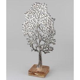 Lebens-Baum 62cm Alu Mango-Holz