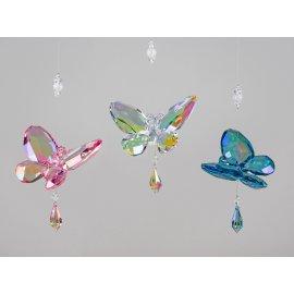 Hängedeko Schmetterling 25cm Acryl - Lüster