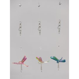 Hängedeko Libelle 66cm Acryl - Lüster