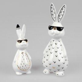 Hase mit Sonnenbrille Trend-Style