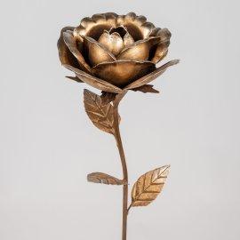 Stecker Rose 15/95cm antik gold