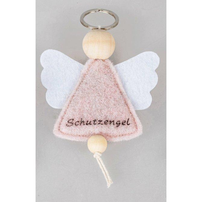 Schlüsselhänger Schutzengel 12cm Filz