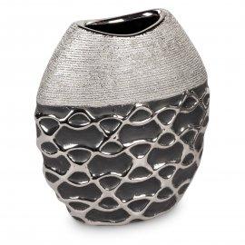 Vase bauchig 20cm Premium-Black