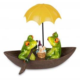 Froschpaar im Boot