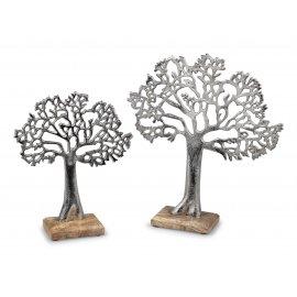 Lebens-Baum Alu Mango-Holz