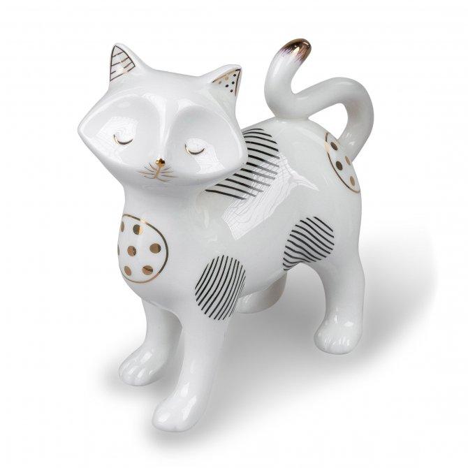 Katze stehend 14cm Trend-Style