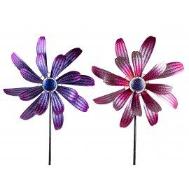 Windrad 48/166cm Metall-Blume