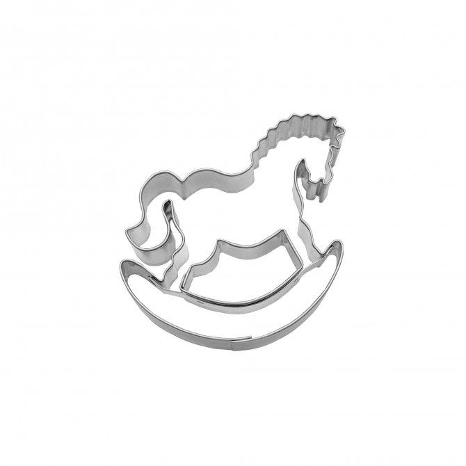 Ausstecher Schaukelpferd 6,5 cm