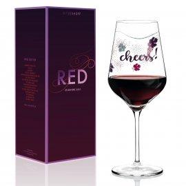 Rotweinglas L. Kühnertová - Red
