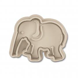 Elefant Präge-Ausstecher mit Auswerfer