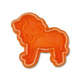 Löwe Präge-Ausstecher mit Auswerfer