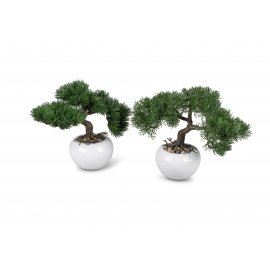 Kunstbaum Bonsai im Topf 18cm