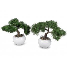 Kunstbaum Bonsai im Topf 26cm