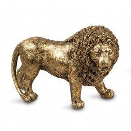 Löwe 22cm Klassik-Gold