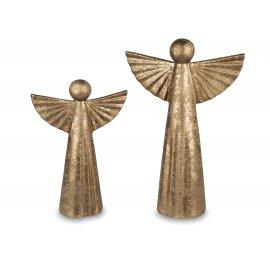 Deko-Engel Antik-Gold