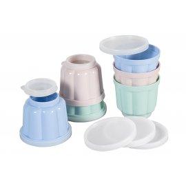 Puddingform Set 3-farbig Dr.Oetker