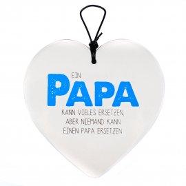 Hängeherz 15cm Papa