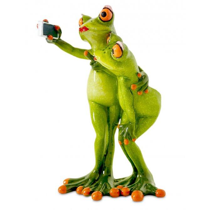 Frosch Selfie