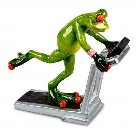 Frosch auf Laufband