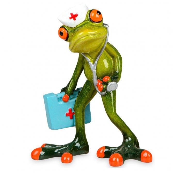 Frosch Arzt