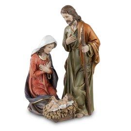 Heilige Familie 15cm handbemalt