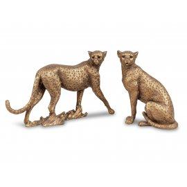 Gepard 26cm Antik-Gold
