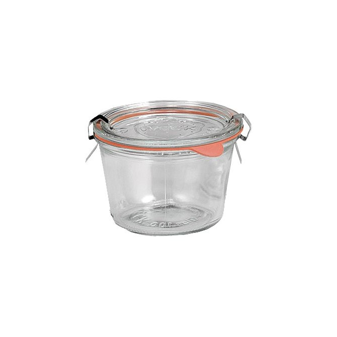 Rundrandglas Sturzform 4er Pack Weck