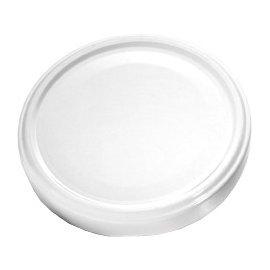 Schraubdeckel weiß 10 cm