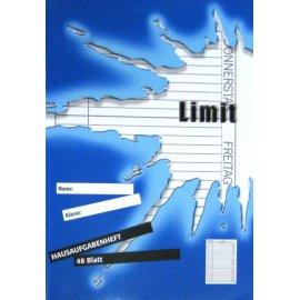 Hausaufgabenheft Limit