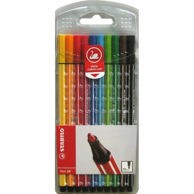 Fasermaler Pen 68 10er