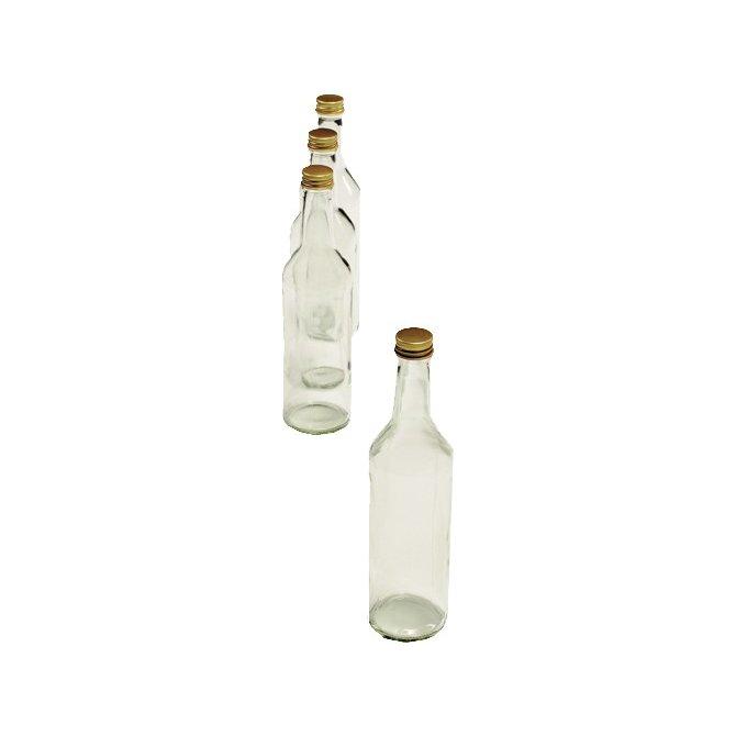 Gradhalsflaschen