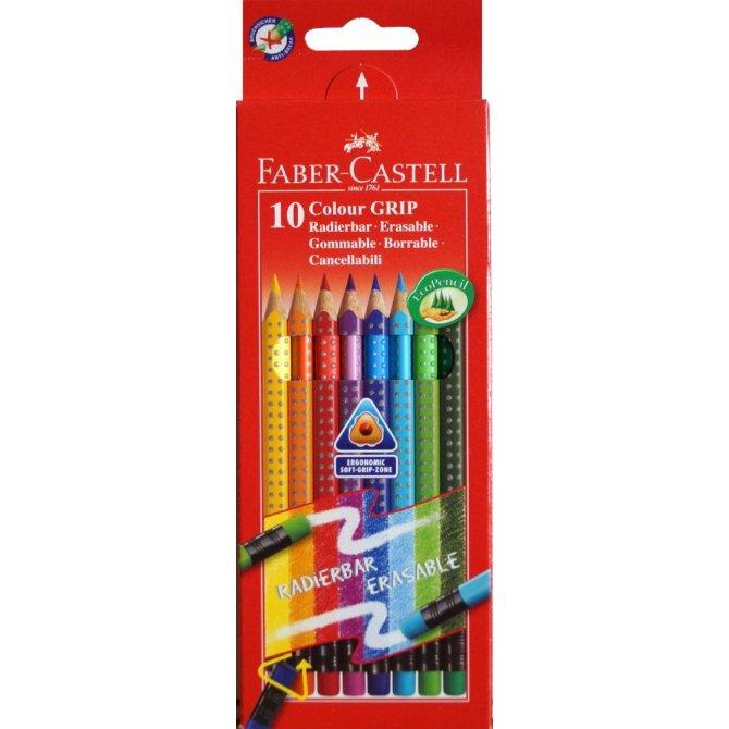 Buntstifte Colour Grip Radierbar 10er