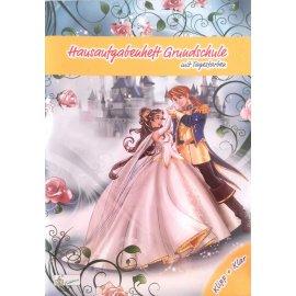 Hausaufgabenheft Grundschule Klipp + klar Prinzessin