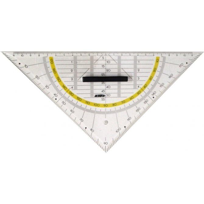 Geodreieck mit Griff 25cm