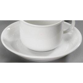Kaffee Untertasse Trend weiß