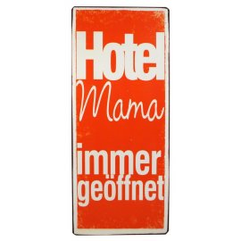 Schild Hotel Mama
