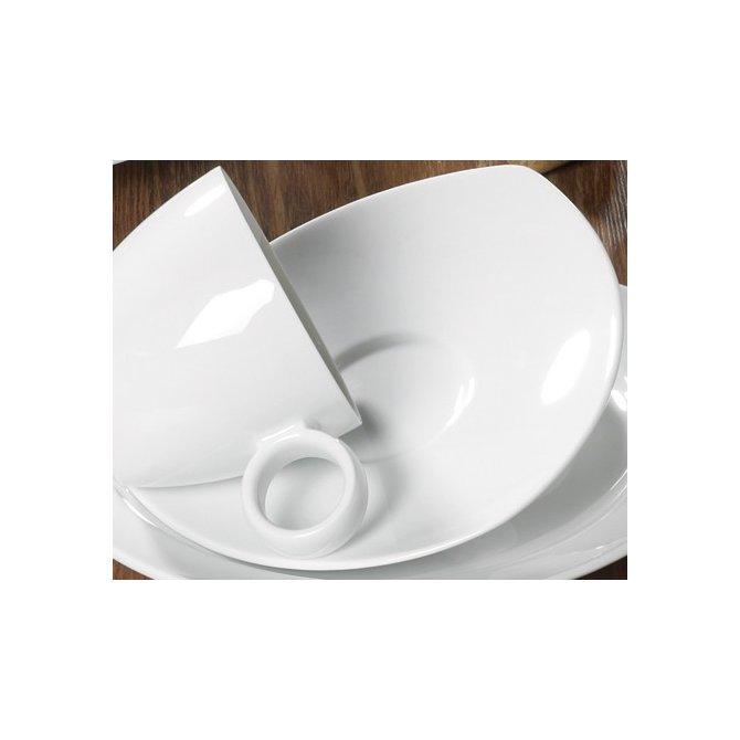 Kaffee Untertasse Vario Pure weiß