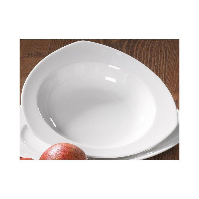 Suppenteller eckig Vario Pure weiß